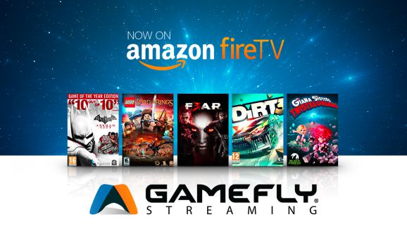 El servicio de transmisión de GameFly está en dispositivos móviles como Amazon FireTV.