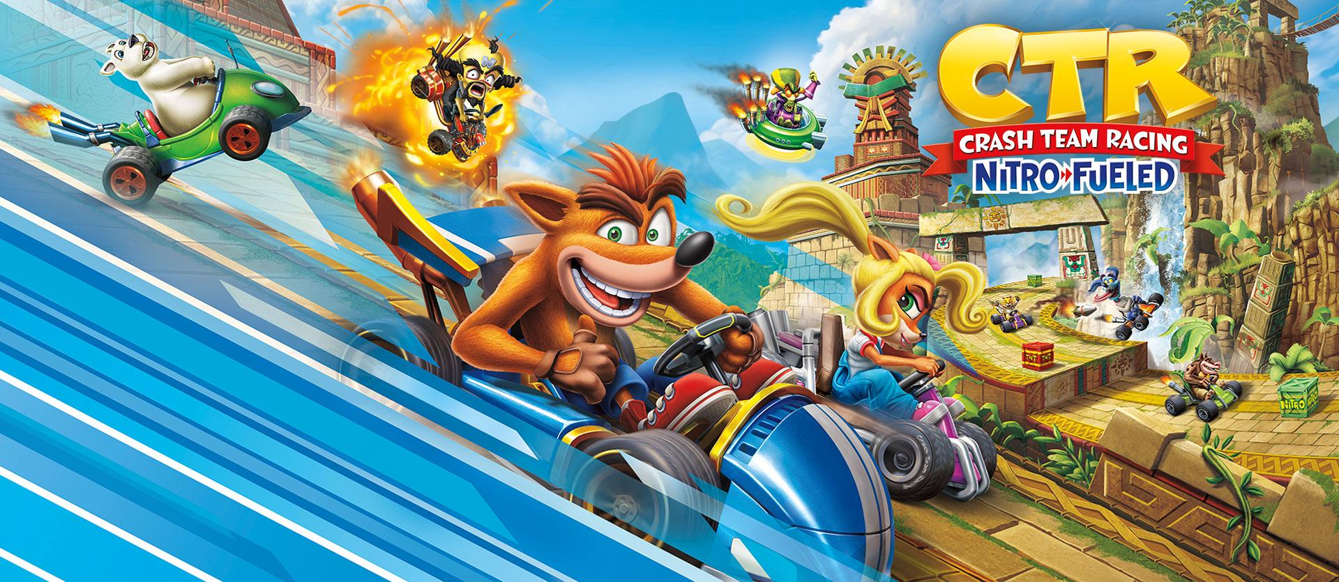 Las tablas de clasificación en línea de Crash Team Racing Nitro-Fueled proporcionan un número mínimo de jugadores por plataforma - El Arcadia